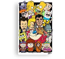 Cartoons Color Canvas Print