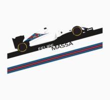Formula 1 Williams Racing FW37 Felipe Massa Kids Clothes