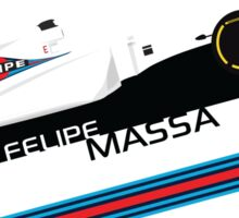 Formula 1 Williams Racing FW37 Felipe Massa Sticker