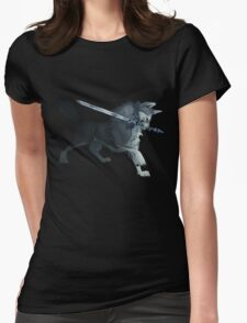 Great Grey Wolf Sif Womens Fitted T-Shirt