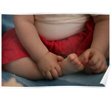 Baby's hands and feet Poster