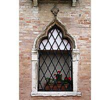 windows of Venice 5 Photographic Print