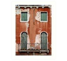 windows of Venice 6 Art Print