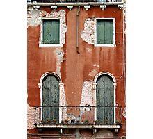 windows of Venice 6 Photographic Print