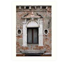 windows of Venice 7 Art Print
