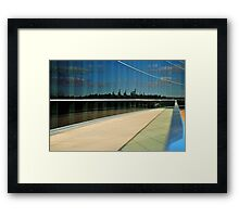 Valley Reflected Framed Print