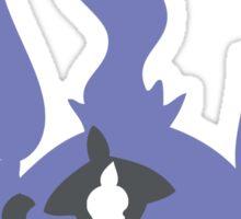 PKMN Silhouette - Litwick Family Sticker