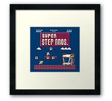 Super Step Brothers Framed Print