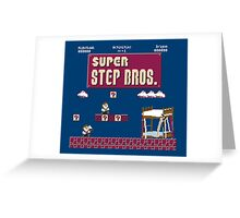 Super Step Brothers Greeting Card