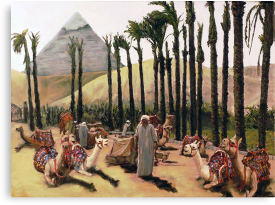 Camel Caravan Jockey by Randy Sprout