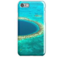 The Great Blue Hole iPhone Case/Skin
