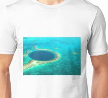 The Great Blue Hole Unisex T-Shirt