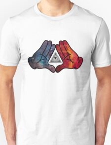 Space Illuminati Hands Diamond T-Shirt