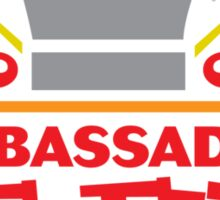 Ambassador Of Fun Sticker