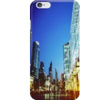 Bangkok city in twilight iPhone Case/Skin
