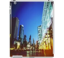 Bangkok city in twilight iPad Case/Skin