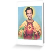 Holy Benedict Greeting Card