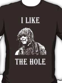 LEXX - the hole. Eating Pattern - White T-Shirt