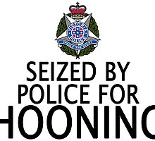 Seized by police for Hooning - Victoria Police by HogarthArts