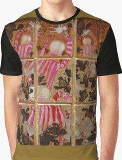 Moses And The Quail - Abstract Graphic T-Shirt