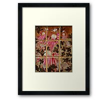 Moses And The Quail - Abstract Framed Print