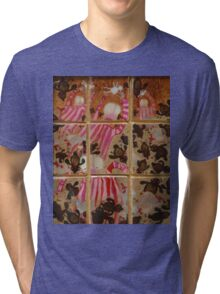 Moses And The Quail - Abstract Tri-blend T-Shirt