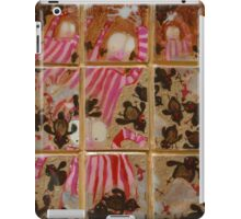 Moses And The Quail - Abstract iPad Case/Skin