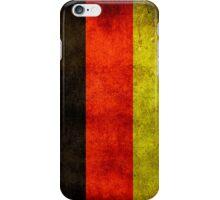 German Flag  iPhone Case/Skin