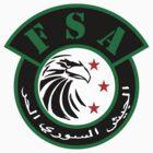 Free Syrian Army logo large  by obskura