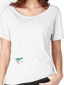 Green Honeycreeper Women's Relaxed Fit T-Shirt