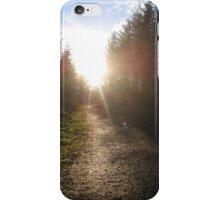 Sunset on Crag Path iPhone Case/Skin
