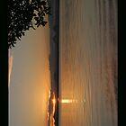 Sunset at Bribie Island iPad Case by STHogan