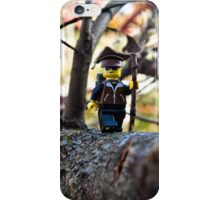 Hiker phone iPhone Case/Skin