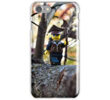 Hiker phone iPhone Case/Skin
