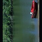 Red Boat on Lake Monduran by STHogan