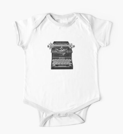 The Madison Review Typewriter One Piece - Short Sleeve