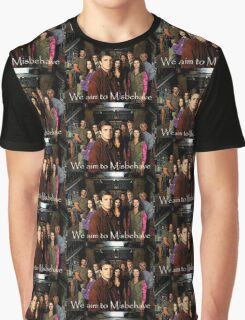 We aim to Misbehave Graphic T-Shirt