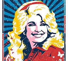 Dolly Parton. What Would Dolly Do? Nashville Country Music by unclegertrude