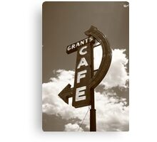 Route 66 - Grants Cafe Canvas Print