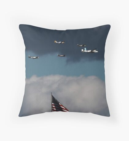 Flying for THOSE No Longer With Us Throw Pillow