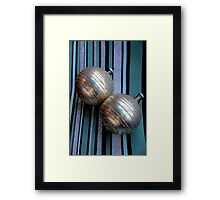 Worth Their Weight In A Gold Stripey Way Framed Print