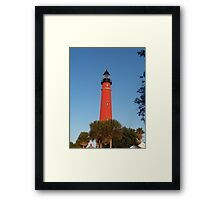 Keeper of Lights Framed Print