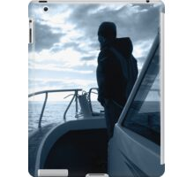 Boat and Man iPad cover iPad Case/Skin