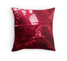 Ruby Mesh Throw Pillow
