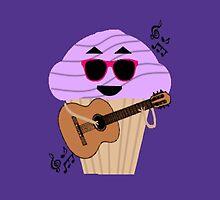 Darren Criss Cupcake by PirateGiraffe