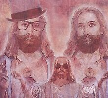 Jesus With Out The Brand by Bearded Wonder Kid by Edwin Culling