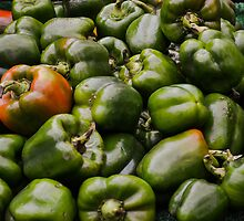 Green Peppers by Kaitlyn Butler