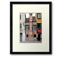 Venitian facade Framed Print