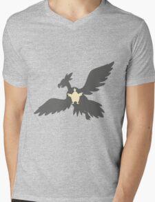PKMN Silhouette - Vullaby Family Mens V-Neck T-Shirt