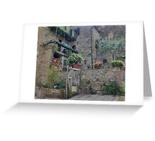 Italian Streetscape Greeting Card